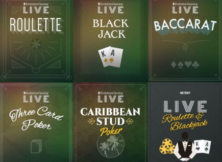 Casumon live casino on MUST alkuviikosta