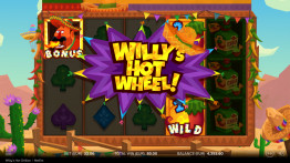 Willy's Hot Wheel -bonuspeli
